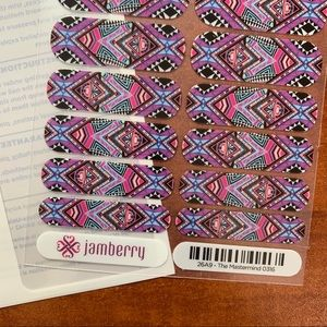 Jamberry Makeup - B3G1 Jamberry The Mastermind Full Sheet. Licensed.